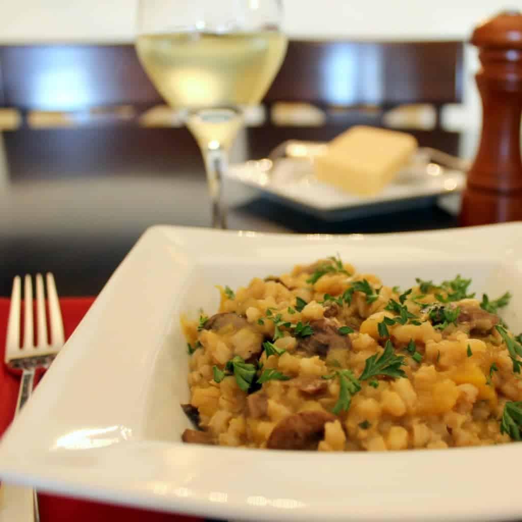 ... Party: Slow Cooker Mushroom and Fall Squash Barley Risotto + GIVEAWAY
