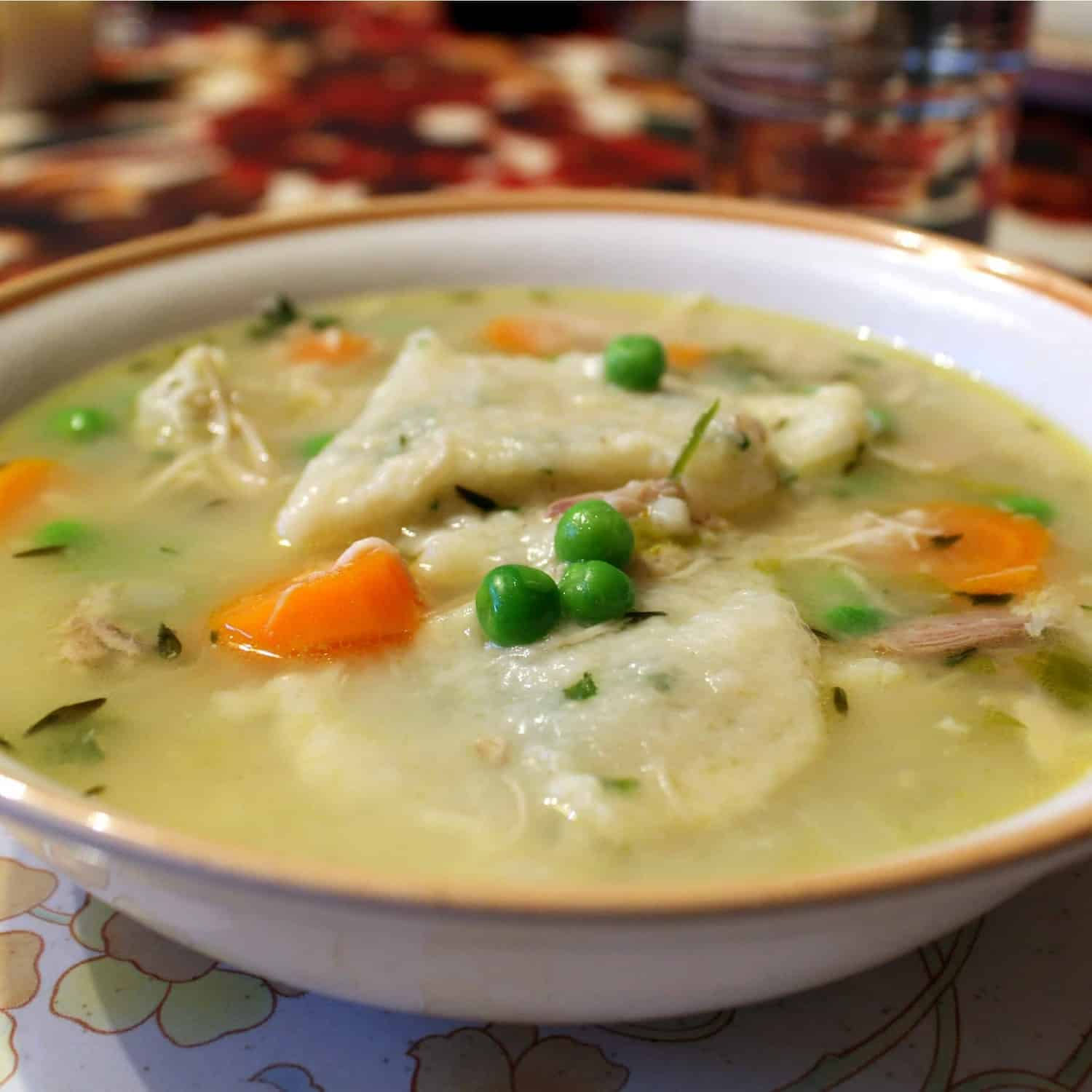 ... Cooking Party: Southern-Style Chicken and Dumplings - Rachel Cooks