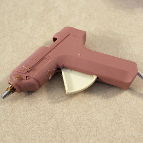 Small pink glue gun.
