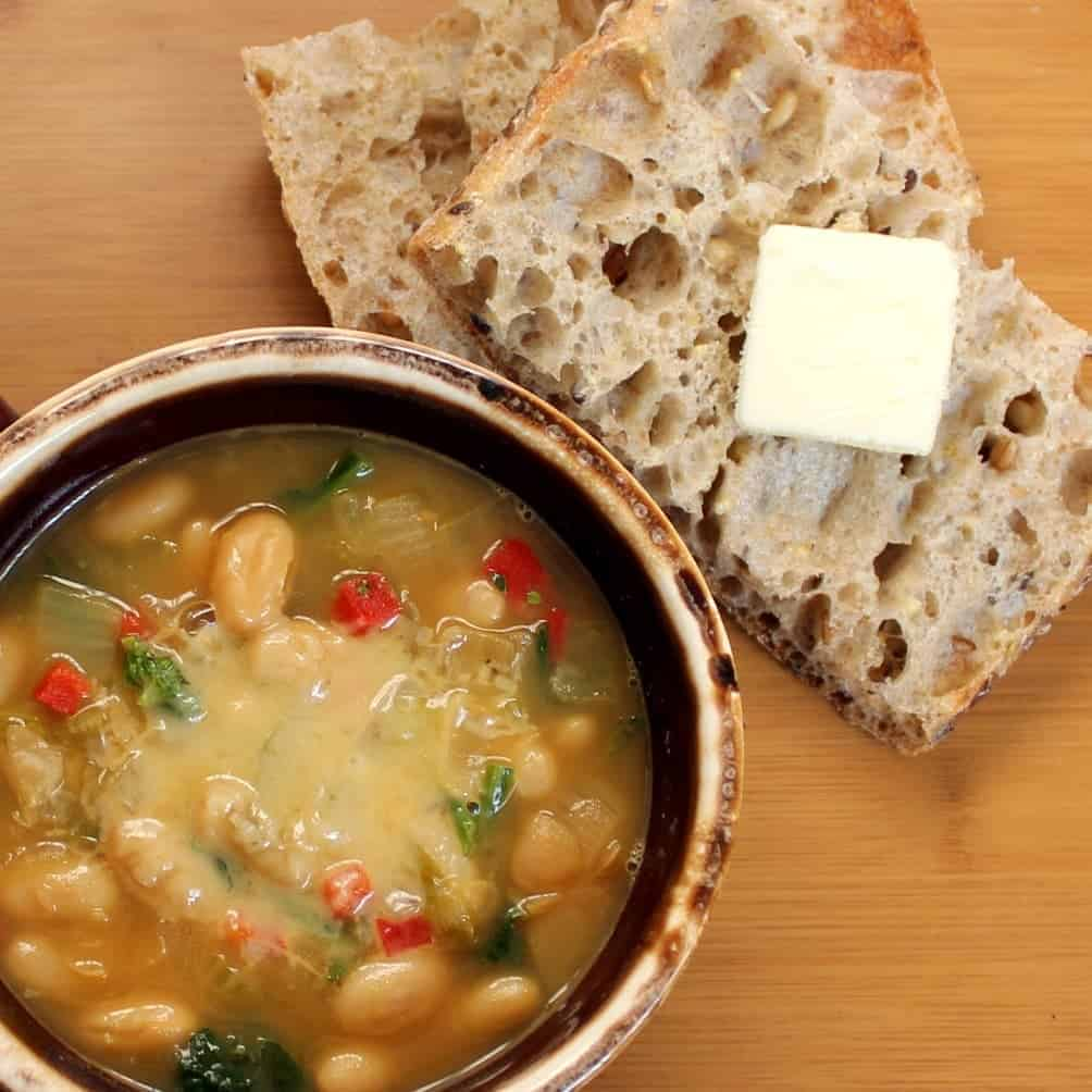 Emeril's One Pot Cooking Party: Tuscan White Bean Soup ...