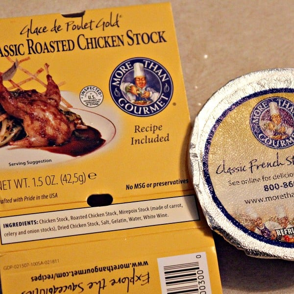 More than Gourmet package - roasted chicken stock.