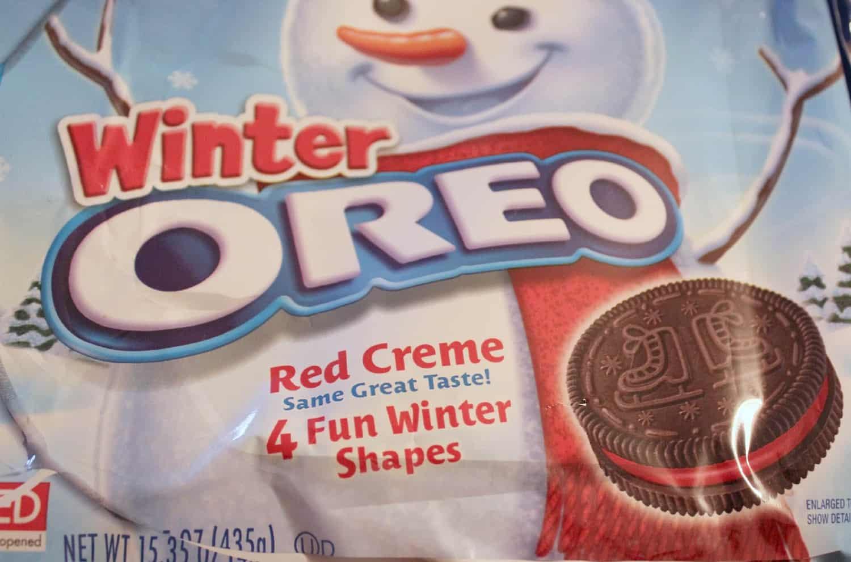 Colored Oreo Cookies Winter Oreos
