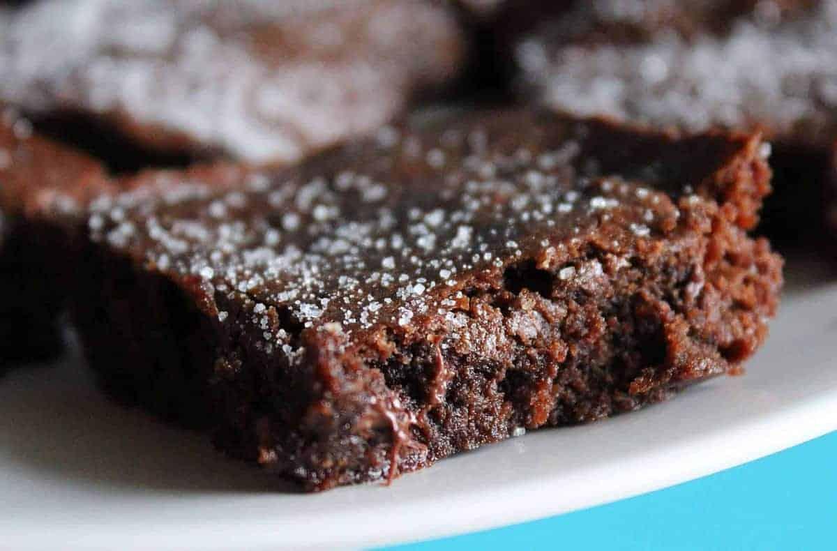 Kahlúa Brownies with Cinnamon
