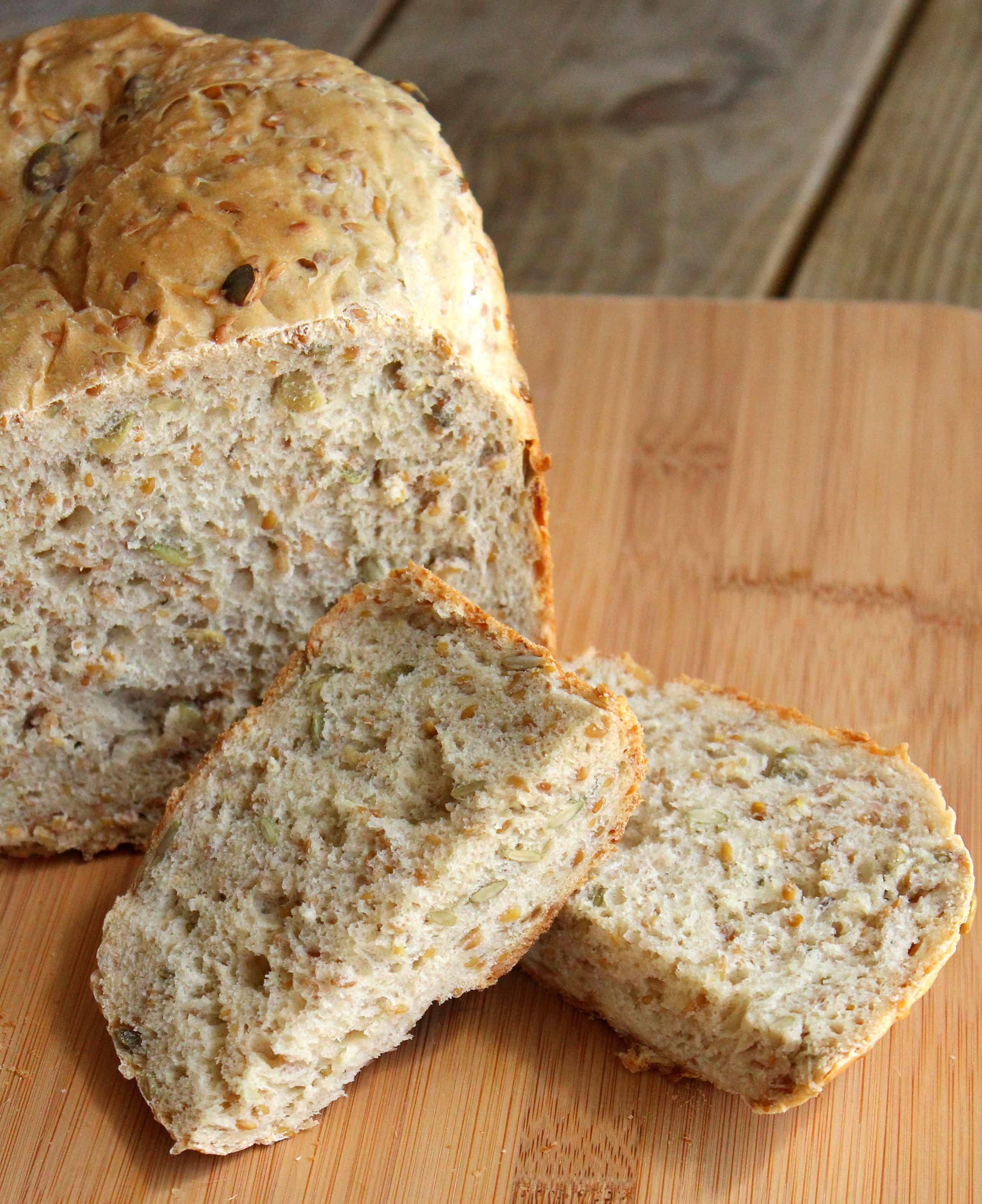 flax seed bread machine recipe