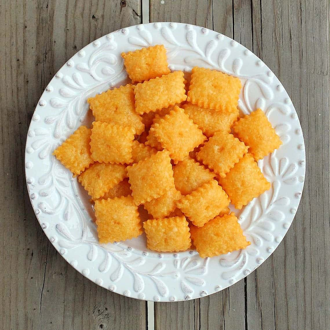 Homemade Cheez-Its (Cheddar Cheese Crackers) - Rachel Cooks