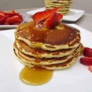 Strawberry Malted Pancakes 2