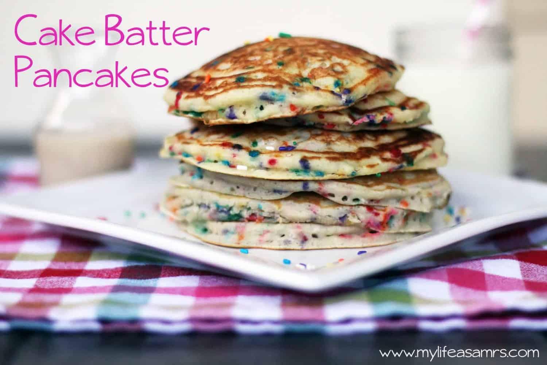 Cake Batter Pancakes - Rachel Cooks