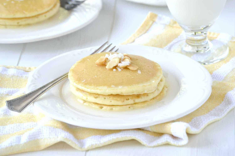 coconut lemon pancakes rachel cooks