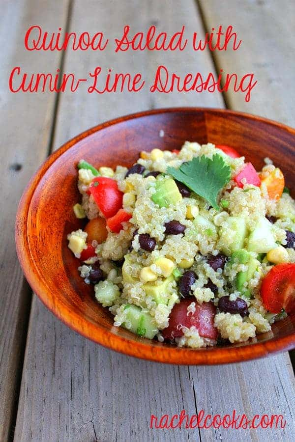 Quinoa Salad with Cumin-Lime Dressing - Rachel Cooks