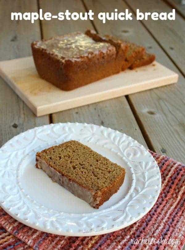 Maple Stout Quick Bread