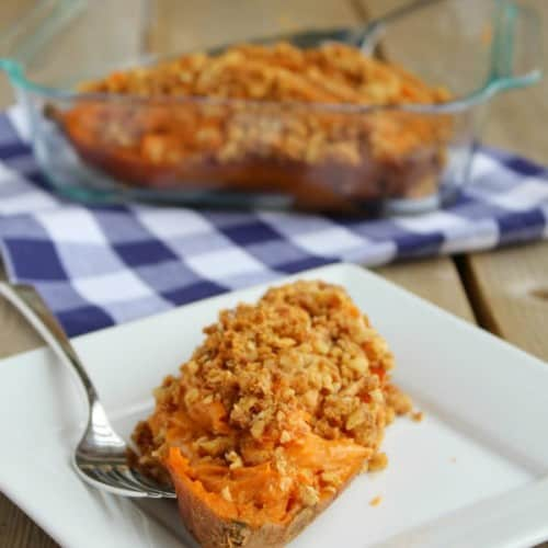 twice baked sweet potatoes rachelcooks.com