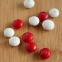 Peppermint M&M Cookies