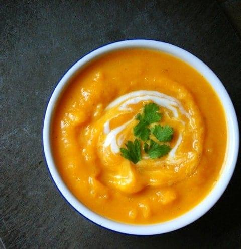 Butternut Squash Soup - The Lemon Bowl
