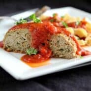 Italian Turkey Quinoa Meatloaf | RachelCooks.com
