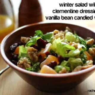 Winter Salad with Clementine Dressing