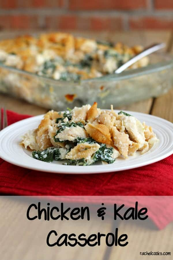 Chicken and Kale Casserole on RachelCooks.com