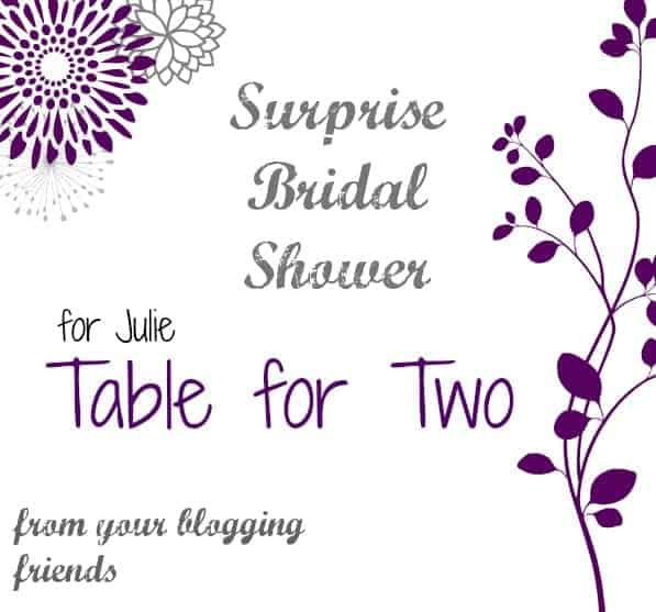 Surprise Bridal Shower for Julie BADGE