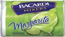 Can of bacardi mixers Margarita mix.