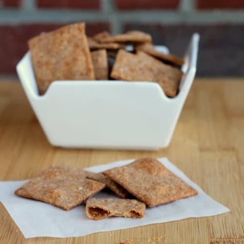 Homemade Wheat Thins   RachelCooks.com