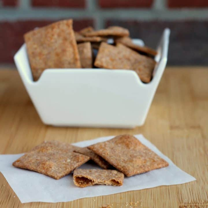 Homemade Wheat Thins | RachelCooks.com