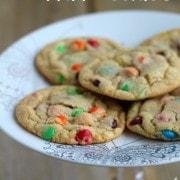 Perfect M&M Cookies | RachelCooks.com