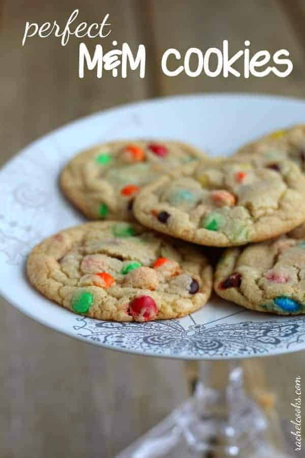 Perfect M M Cookies Tried True Rachel Cooks
