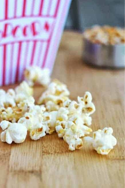 Cool Ranch Popcorn on RachelCooks.com