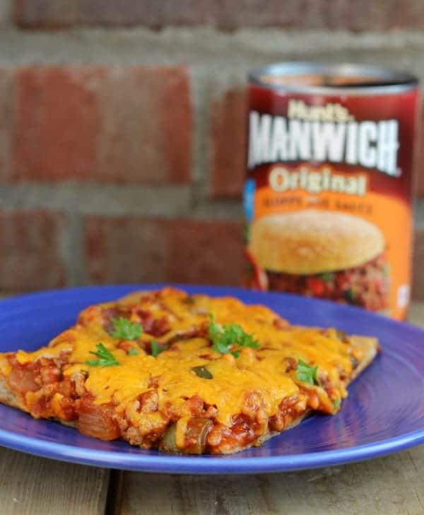 Manwich Pizza | RachelCooks.com