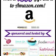 Win $500 to spend on Amazon! | RachelCooks.com