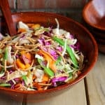 Thumbnail image for Cabbage Salad with Honey Lime Dressing — {easy meal idea}