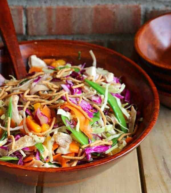 Cabbage Salad with Honey Lime Dressing -- {easy meal idea}