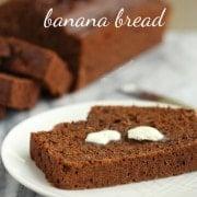 Healthy Chocolate Banana Bread | RachelCooks.com