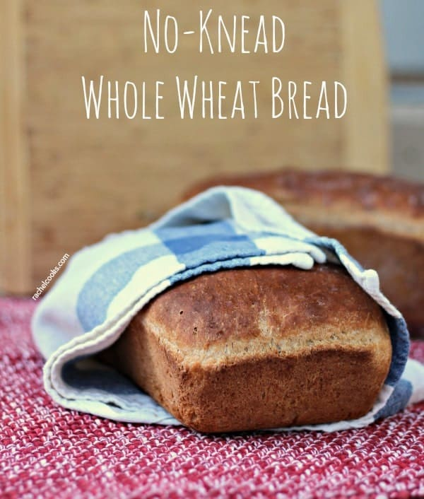 No Knead Whole Wheat Bread | RachelCooks.com