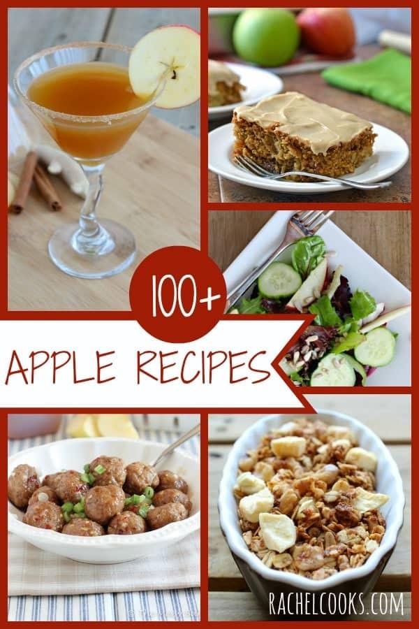 Over 100 great apple recipes on Rachel Cooks   www.rachelcooks.com