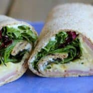 Easy Egg and Herb Wrap - a great idea for lunch! Get the recipe on RachelCooks.com!