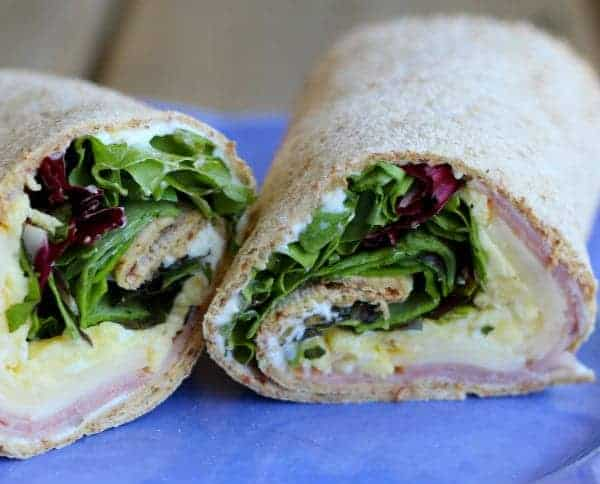 Egg and Herb Wrap