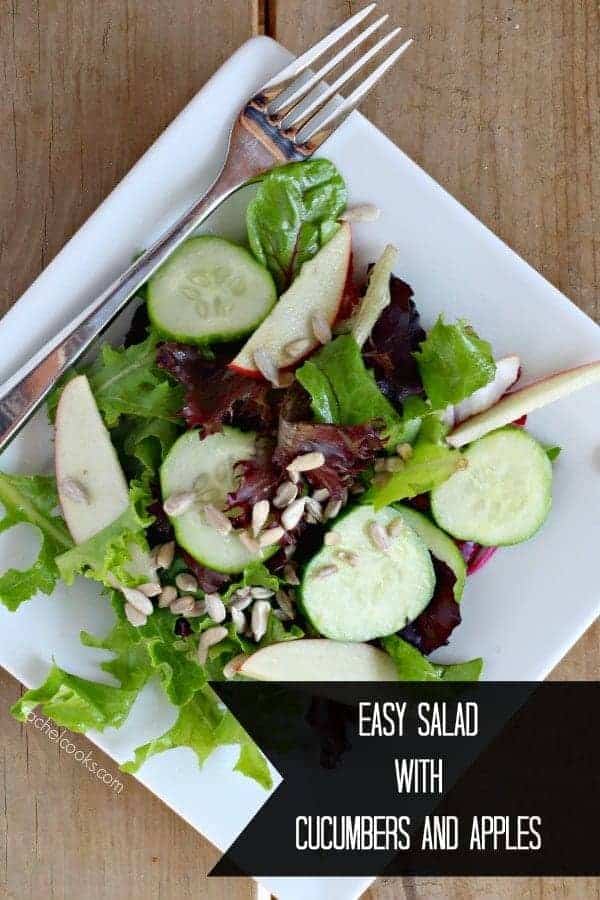Easy Salad with Apples and Cucumbers   RachelCooks.com