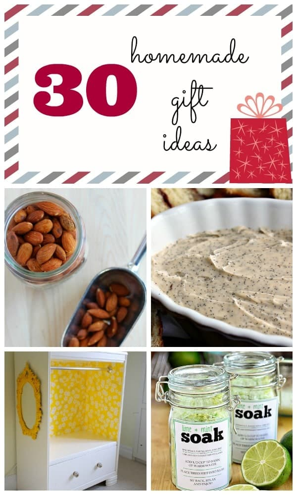 30 Homemade Gift Ideas on RachelCooks.com -- some for kids, too!