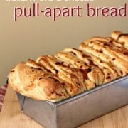 Italian Herb and Cheese Pull-Apart Bread from RachelCooks.com