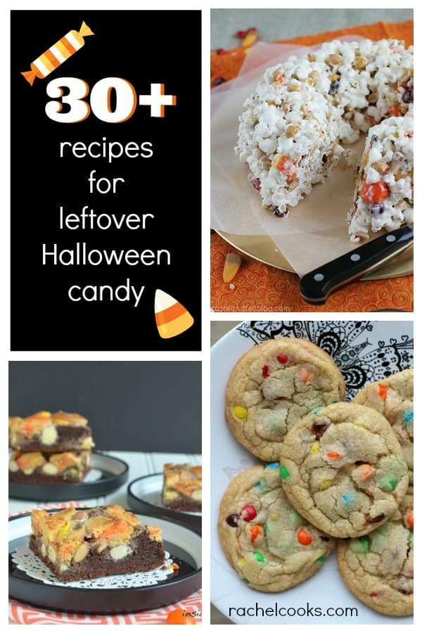 30+ Uses for Leftover Halloween Candy   RachelCooks.com