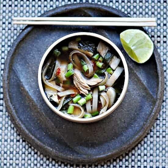 Turkey Pho from Healthy Green Kitchen