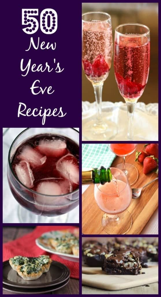 50 Recipes for a fantastic New Year's Eve Celebration on RachelCooks.com