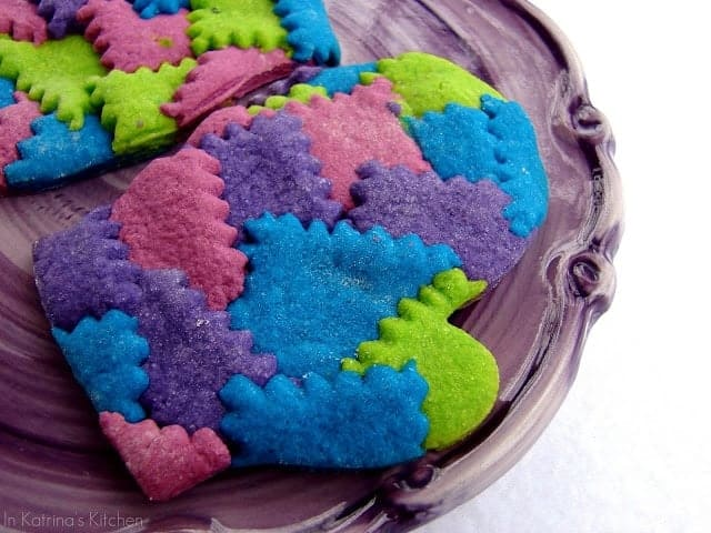 Patchwork Mitten Cookies by In Katrina's Kitchen