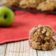 Apple Crisp Breakfast Cookies on RachelCooks.com
