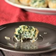 Easy Spinach Artichoke Bites on RachelCooks.com
