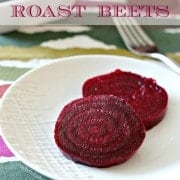 How to Roast Beets: Find it on RachelCooks.com