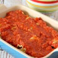 Pizza Lasagna Rolls on RachelCooks.com