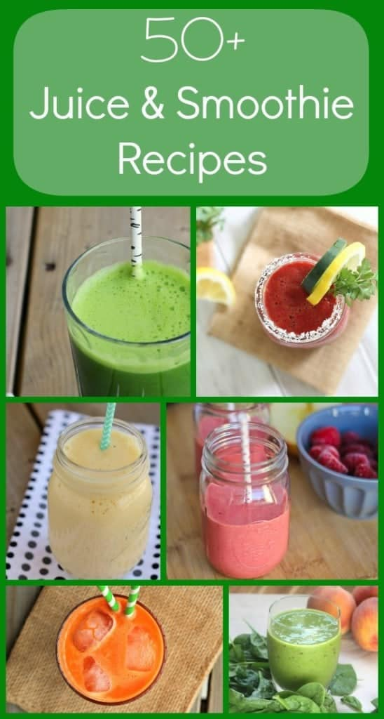Over 50 Juice and Smoothie Recipes on RachelCooks.com
