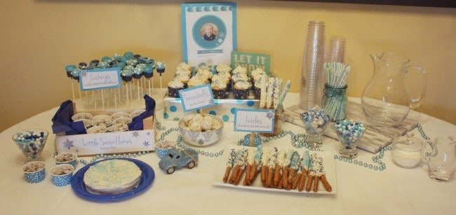 Winter ONEderland 1st Birthday Party on RachelCooks.com