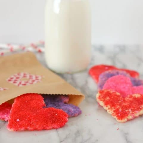 Last Minute Valentine's Day Cookies